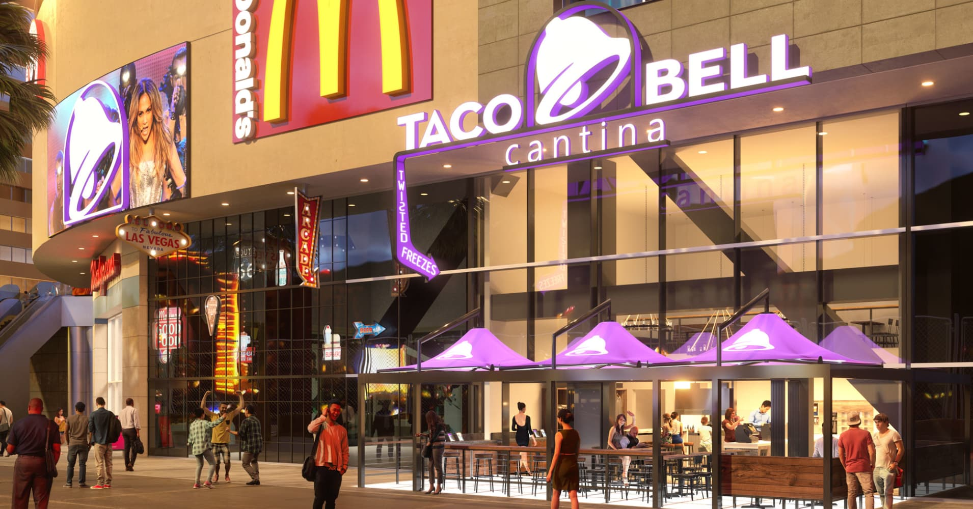 Taco Bell Goes All In On New Las Vegas Location
